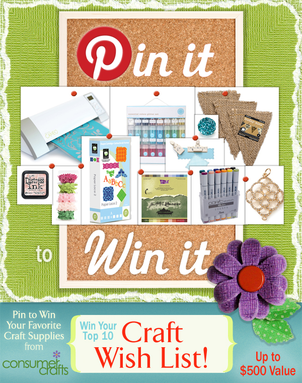 Pin It to Win It – Up to $500!