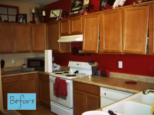 Kitchen cabinet makeover better after for Kitchen cupboard makeover before and after