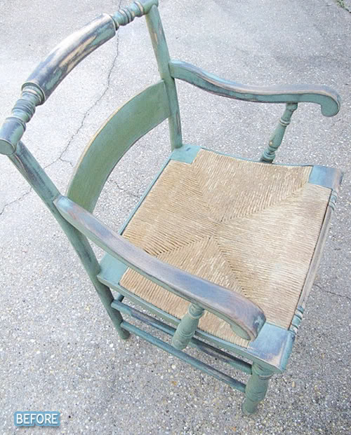 Old chairs, new life, young ladies!