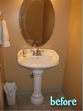 Grecian Bathroom