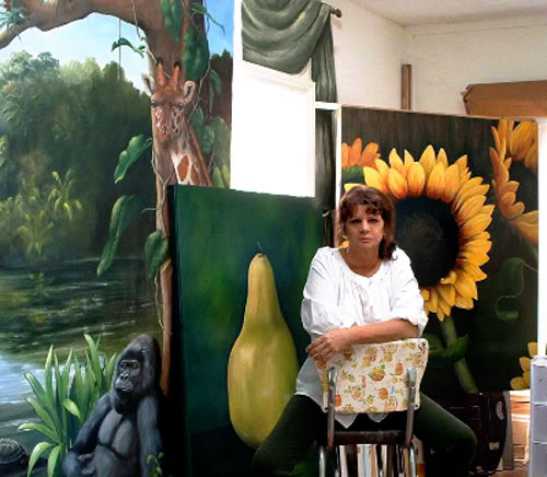 Karen Hetzer Artworks and GIVEAWAY! (now closed)