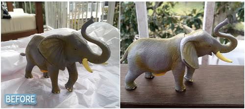 Spray Paint for Elephants