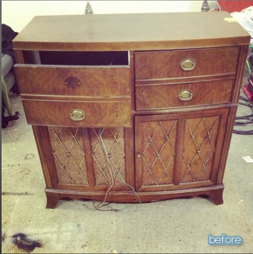 Do The Shuffle: A Stereo Cabinet's Story