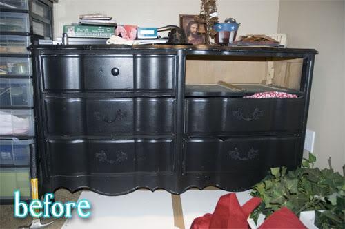 Natalie's Damask Dresser