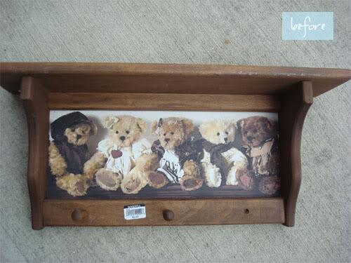 Teddy Bear Shelf
