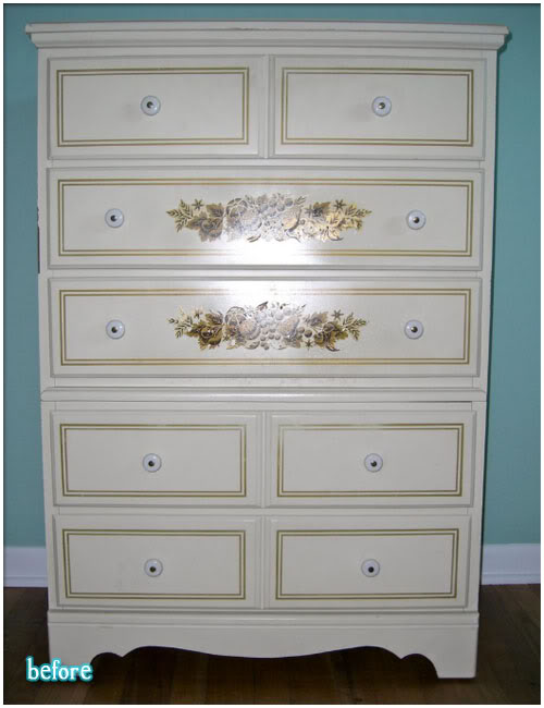 Venti dresser better after for Pegatinas para decorar muebles
