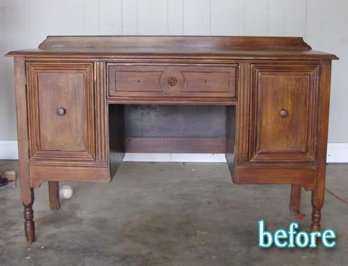 Redressed Desk