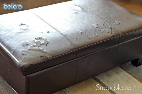 bonded leather fix