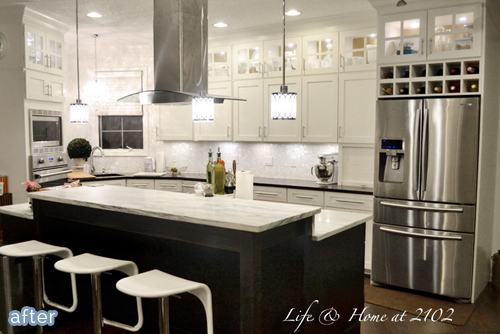 A kitchen do si don 39 t better after - What to do with the space above kitchen cabinets ...