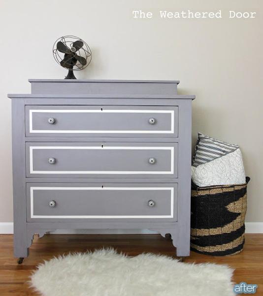 plum dresser