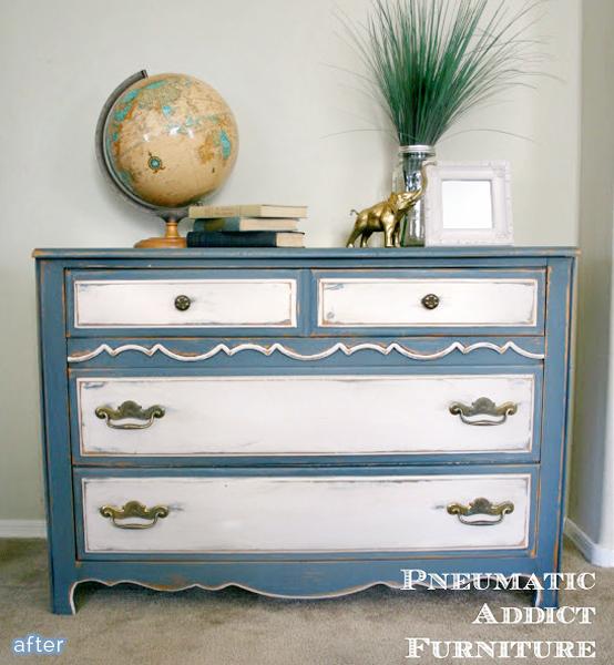 pneumatic blue dresser