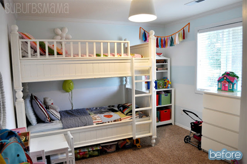 Stunning Ideas for a boy girl shared bedroom Featured on BetterAfter net