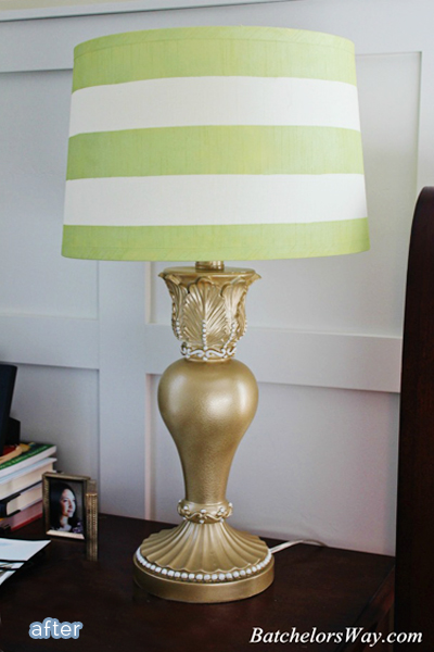 Quick and easy lamp makeovers. Featured on BetterAfter.net