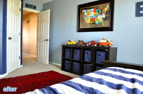 Kids Bedroom Makeover boys bedroom makeover remodelaholic blue boys bedroom makeover