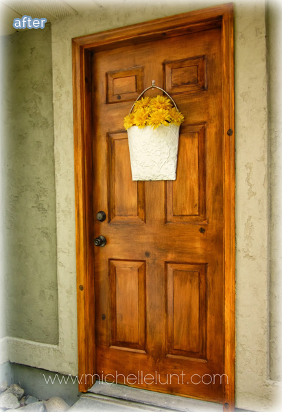 faux_wood_door_makeover