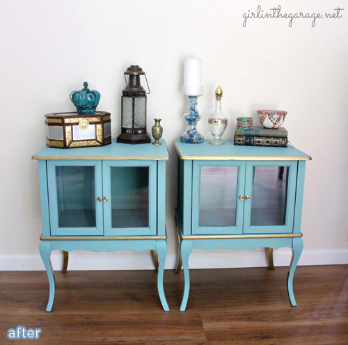 gilded_twin_tables_makeover