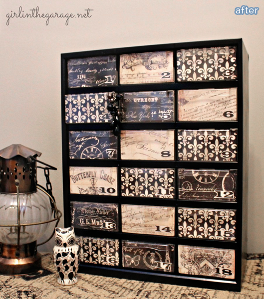 Cute AND functional!  Organizer makeovers on betterafter.net