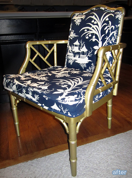 Simple chinoiserie-style makeovers on betterafter.net