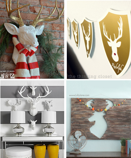 deer head decor trends
