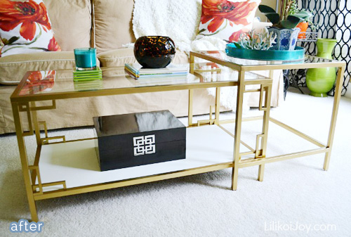 gold_ikea_table_makeover