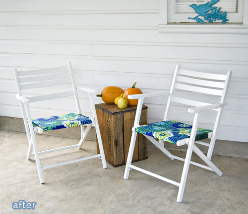 Chair makeovers on betterafter.net