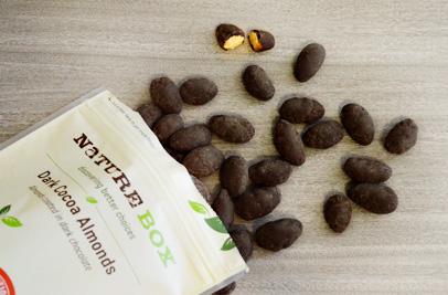 dark cocoa almonds