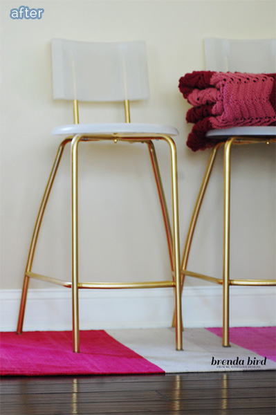 gold stools after