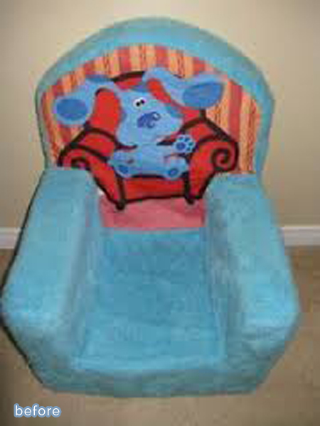 Kiddie round-up!  Great makeovers of kid's furniture on betterafter.net