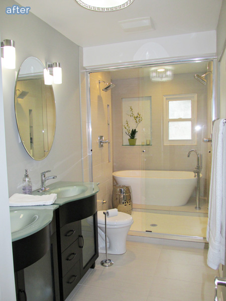 Download image Master Bathroom Tub Inside Shower PC, Android, iPhone ...