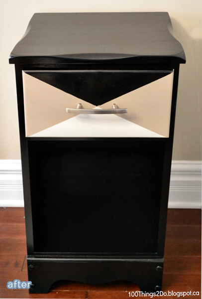 Awesome side table and nightstand makeovers at betterafter.net