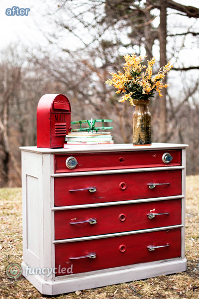 totally innovative dresser makeover using antique car parts on betterafter.net