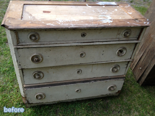 totally innovative dresser makeover using antique car parts! on betterafter.net