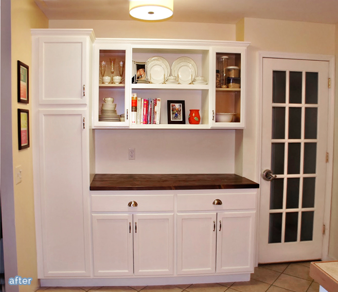 Check out this half kitchen makeover at betterafter.net
