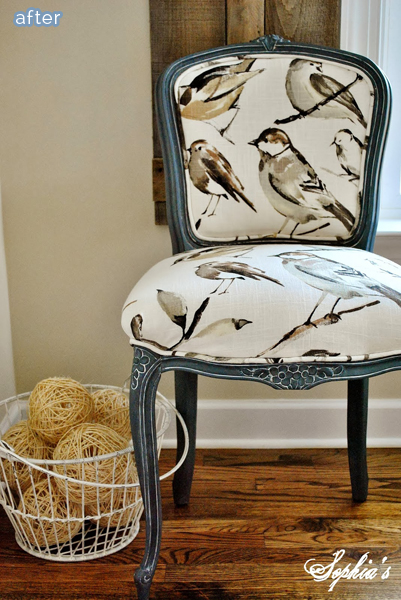 Bird Fabric Chair Chairs French Bird Chair