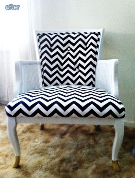 blackwhite_chair_makeover