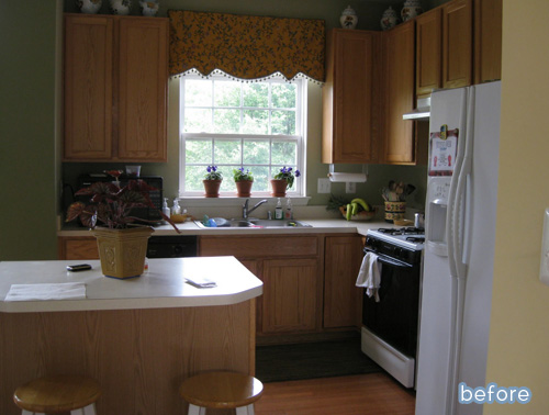 You won't believe this kitchen makeover at betterafter.net