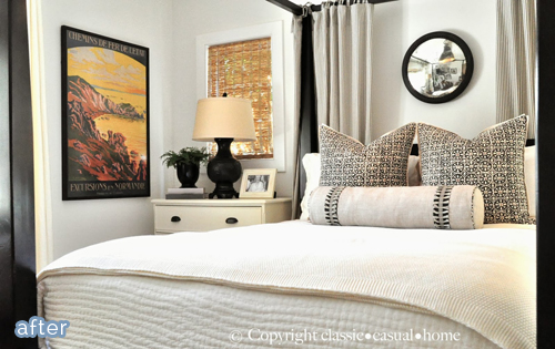 See this beautiful french vintage bedroom makeover at betterafter.net
