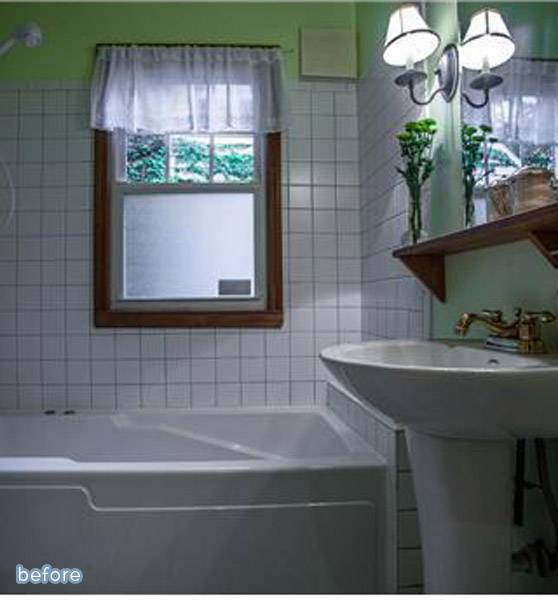 See this classic white bathroom makeover at betterafter.net