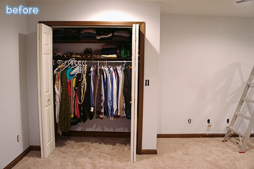 You can't miss this awesome closet makeover at betterafter.net
