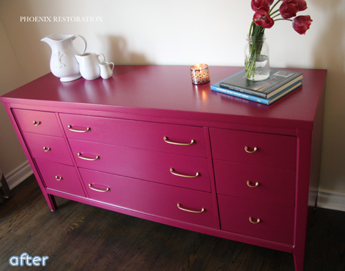 Love Fuchsia? Don't miss these bright makeover at betterafter.net