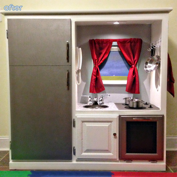 Love a kid kitchen makeover? You won't want to miss this one at betterafter.net
