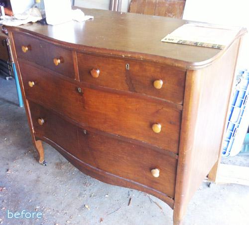 gorgeous refinishing job on a $30 craigslist dresser | betterafter.net |