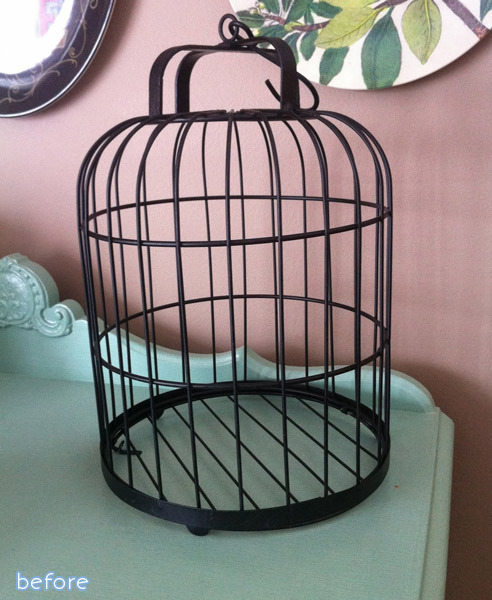 From birdcage to pendant light at betterafter.net
