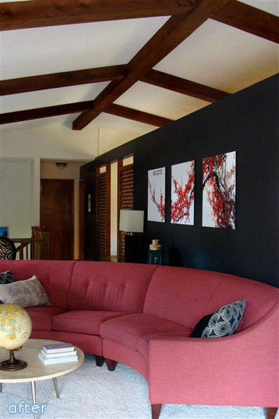 See this dramatic black wall makeover at betterafter.net