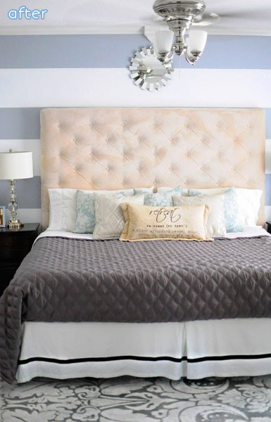 See this beautiful master bedroom makeover at betterafter.net