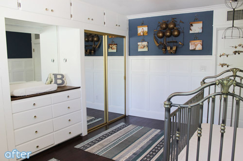 Don't miss this vintage boy nursery makeover at betterafter.net