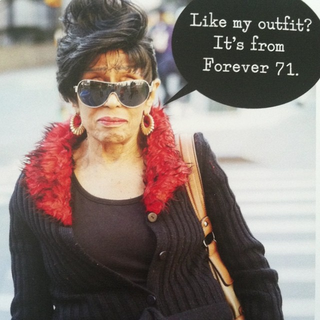 Haha, thanks for the card Mom. I don't feel a day over 71. #happybirthdaytome!