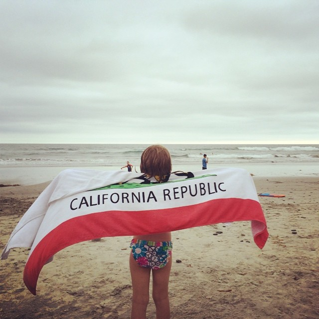 California dreamin.? I'll take a cold day at the beach over a perfect day anywhere else!