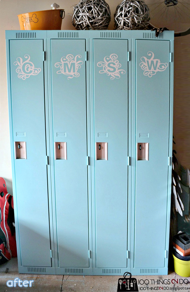From lockers to dog beds, you won't want to miss these fun makeovers at betterafter.net