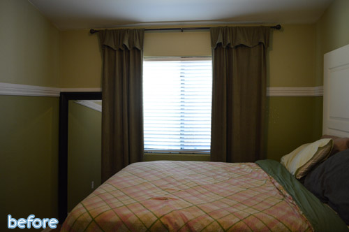Bed with curtains around it 2